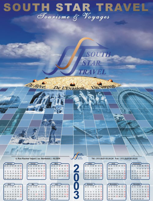 Calendrier poster SST